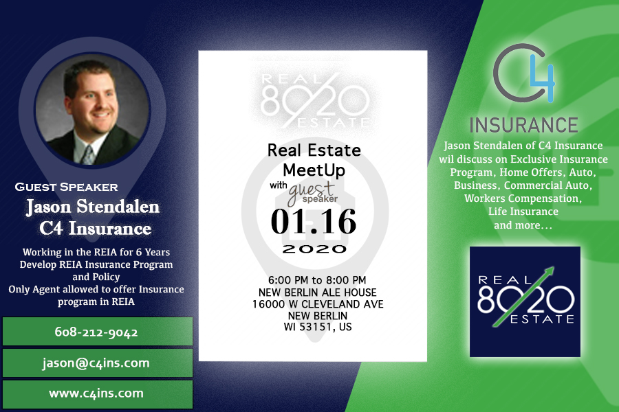 Milwaukeereia January 80 20 Real Estate Group Exclusive