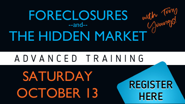 Tony Youngs | Foreclosure and the Hidden Market
