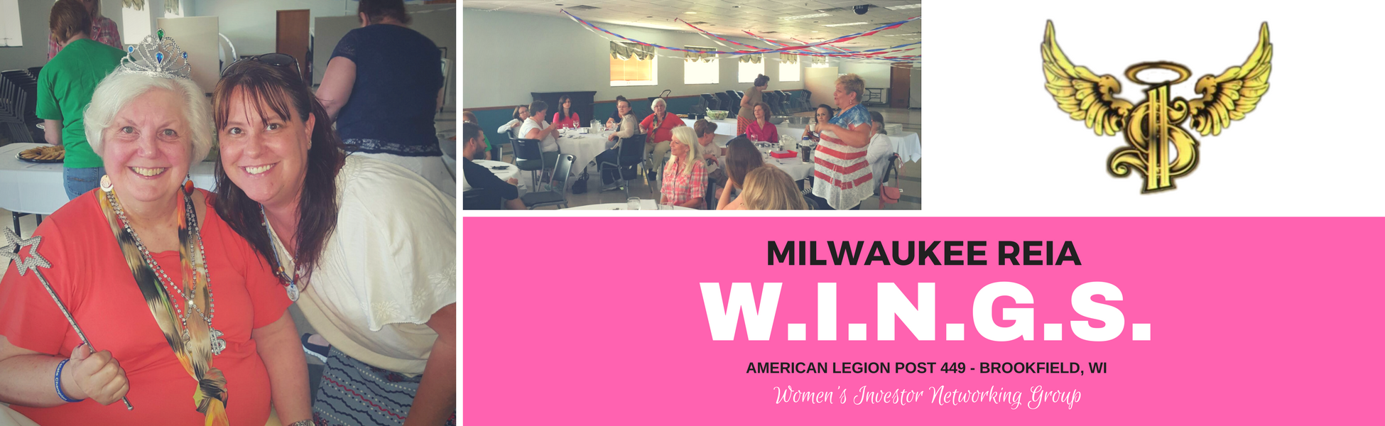 Milwaukee REIA | W.I.N.G.S. | Women's Investment Networking Group
